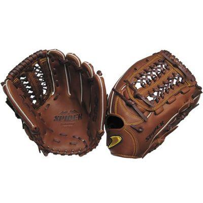 【在庫限り】【特別価格】硬式三塁手オールラウンド用SPIDER チョコ右投げ用 gl5-zca