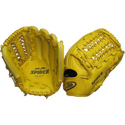 硬式三塁手オールラウンド用SPIDER イエロー右投げ用 gl5-zya