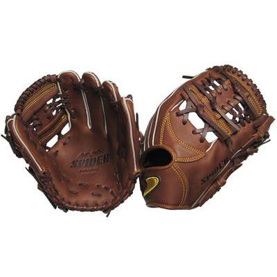 【在庫切れ】硬式二塁手・遊撃手用SPIDER 網ウェブチョコ 右投げ用 gl6-zca