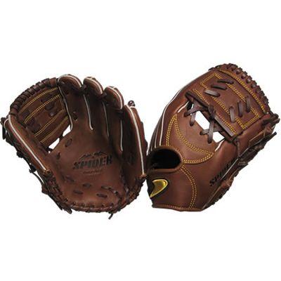 【在庫限り】【特別価格】硬式二塁手・遊撃手用SPIDER Tウェブチョコ 右投げ用 gl6-zct