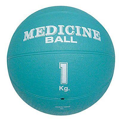 メディシンボール1kg ライトグリーン xmb-1