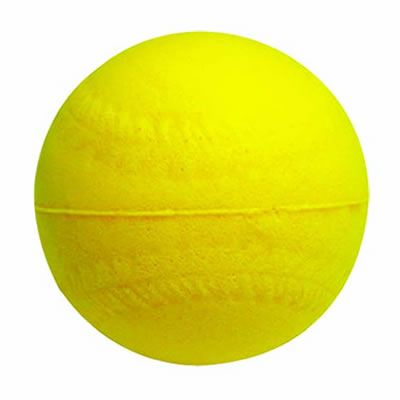室内用練習球発泡ウレタンボールイエロー sb-10y