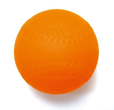 室内練習用ボールソフトボール1号サイズ pu-10l