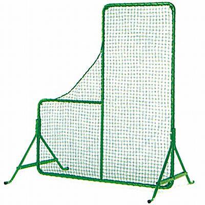投手用L型防球ネット(フレームセット) tln-fs